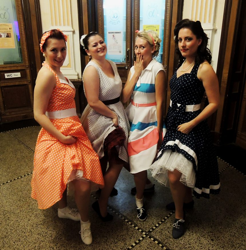 The 50s´- ROCK´N´ ROLL GIRLS